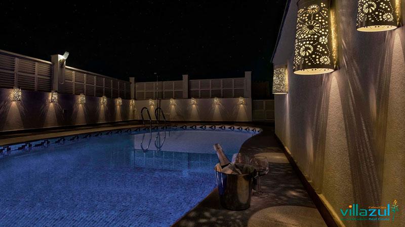 piscina climatizada durante el puente de andalucía