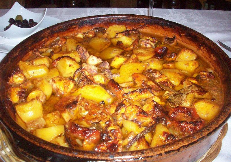 Comer Gurullos con Jibia en Almería