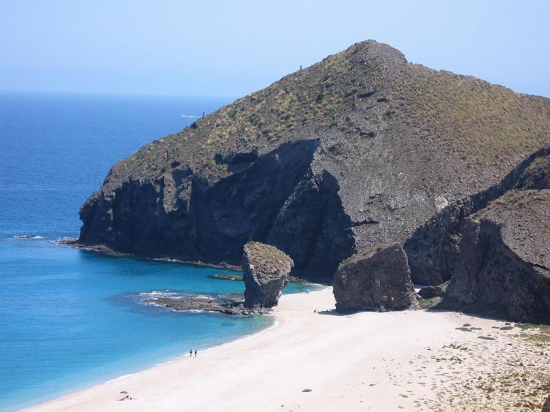 Miradores de Cabo de Gata - playa de los muertos