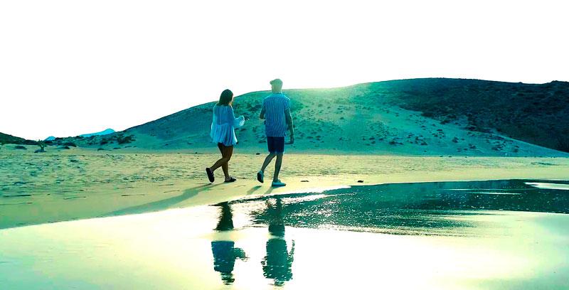 Paseo en San Valentín en Cabo de Gata