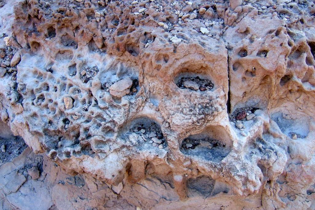 vulcanismo en sendero caldera de majada redonda