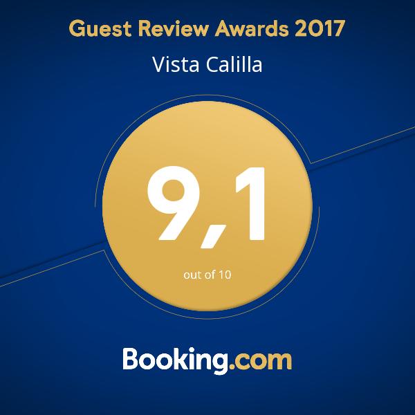Vista Calilla... ¡Calificada con un 9,1 en Booking.com!