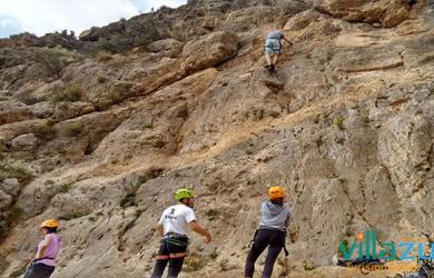 Escalada Almeria Villazul Turismo Activo Cabo de Gata