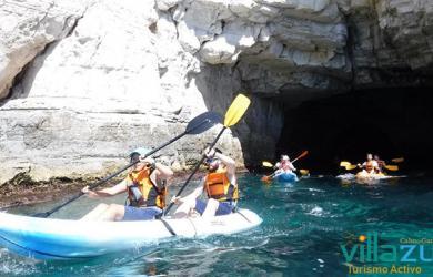 Rutas de Kayak en Las Negras - Villazul Turismo Activo Cabo de Gata