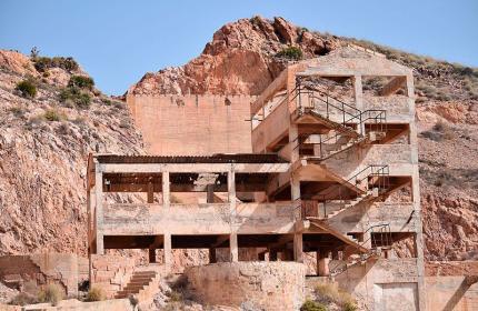 Edificio minero en rodalquilar