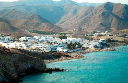 Pueblo de Las Negras en Cabo de Gata