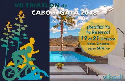 VII Triatlon Cabo de Gata-Níjar - Alojamientos Villazul