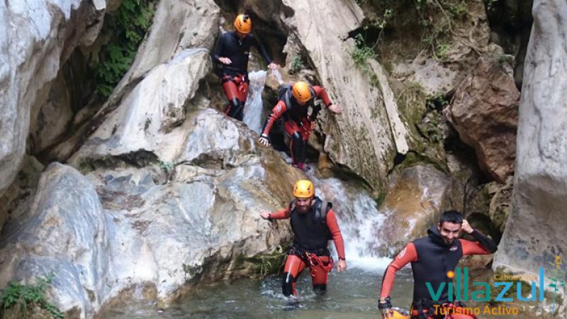 Barranquismo Barranco Bermejo - Villazul Turismo Activo