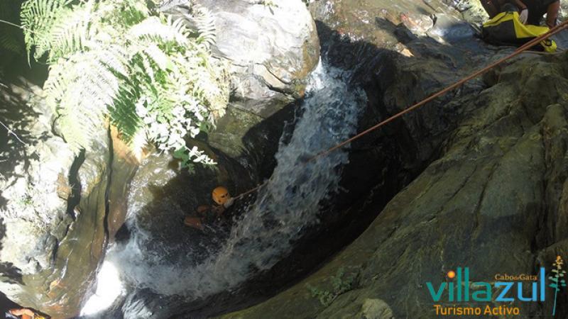 Barranquismo Barranco Palancón - Villazul Turismo Activo Cabo de Gata