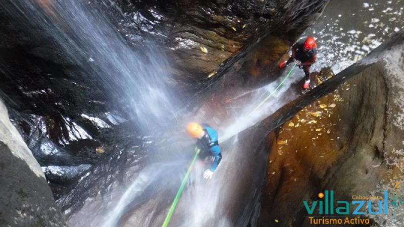Barranquismo Paterna del Río - Villazul Turismo Activo