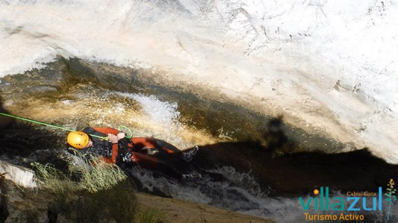 Barranquismo Río Verde - Villazul Turismo Activo Cabo de Gata