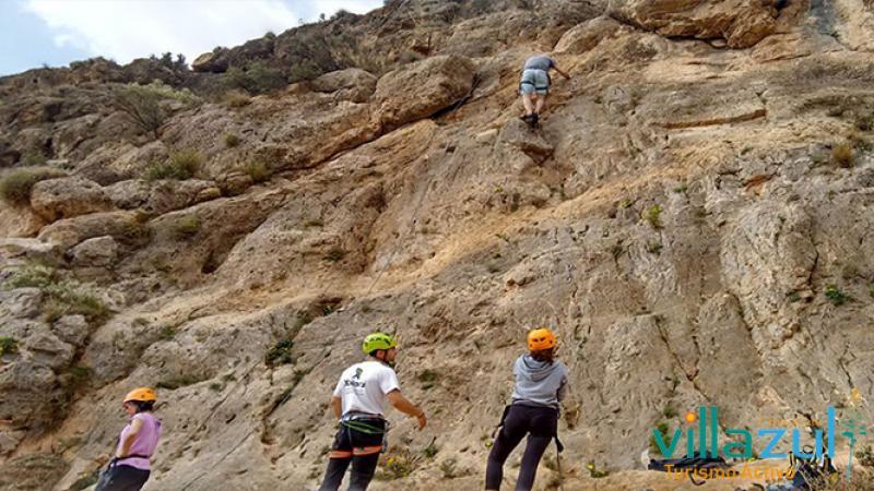 Escalada Iniciación - Villazul Turismo Activo Cabo de Gata
