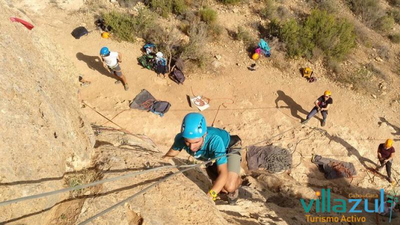 Escalada Almeria - Villazul Turismo Activo Cabo de Gata