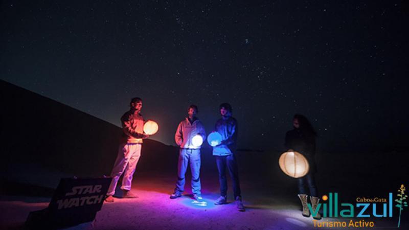 Observación de Estrellas - Villazul Turismo Activo Cabo de Gata