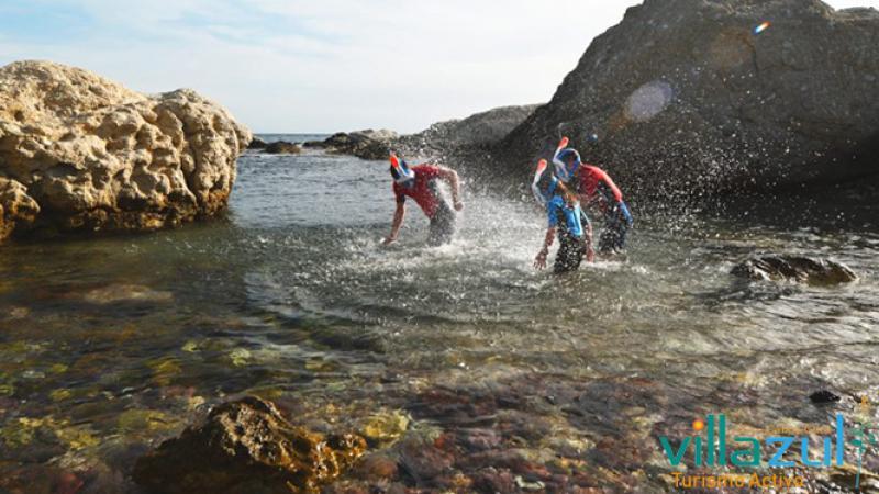 Rutas de Snorkel Iniciación y Para Familias - Villazul Turismo Activo Cabo de Gata