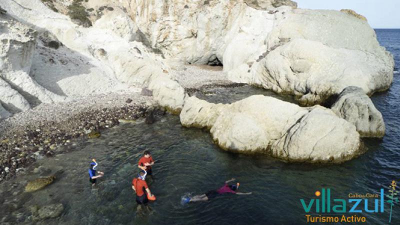 Rutas de Snorkel Intermedio - Avanzado. Villazul Turismo Activo Cabo de Gata