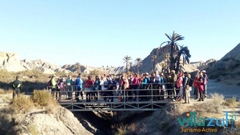 Senderismo en Almería. Villazul Turismo Activo Cabo de Gata