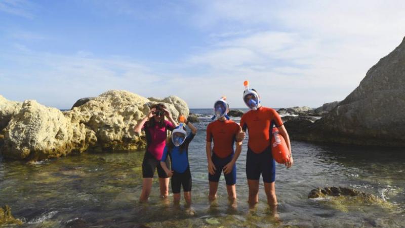 Snorkel - Búsqueda del Tesoro Submarino Cabo de Gata