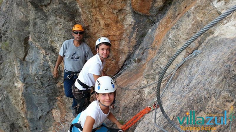 Via Ferrata Alpujarra Almeriense - Villazul Turismo Activo Cabo de Gata
