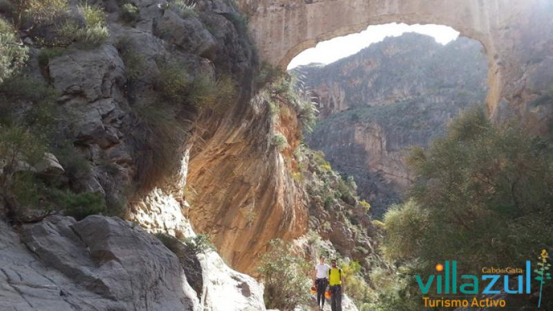 Vía Ferrata Barranco de Carcauz - Villazul Turismo Activo Cabo de Gata