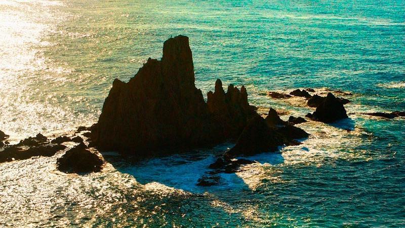 Mirador arrecife de las sirenas en Cabo de Gata