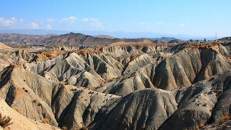 badlands del Desierto de Tabernas