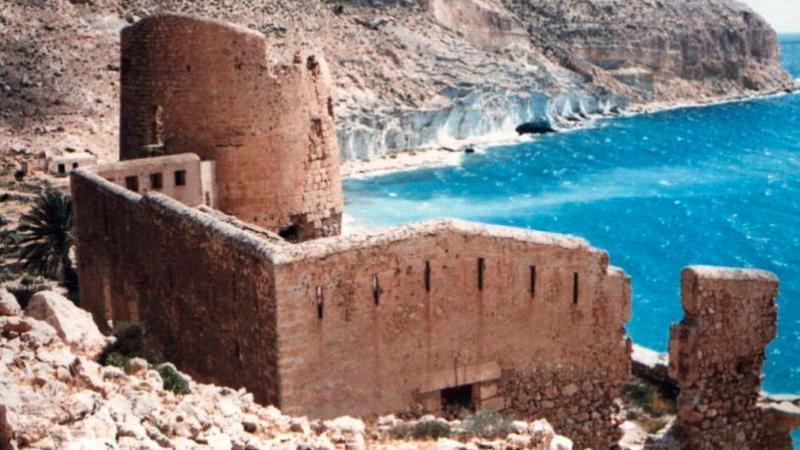 Castillo de San Pedro en Cabo de Gata