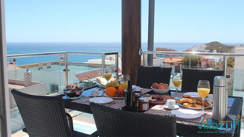 Desayunos Panorámicos Villazul Cabo de Gata