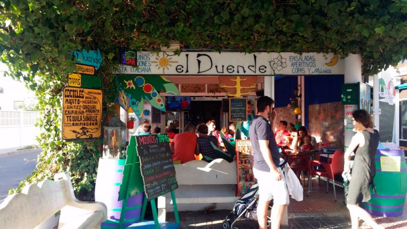 El Duende, bar de San José