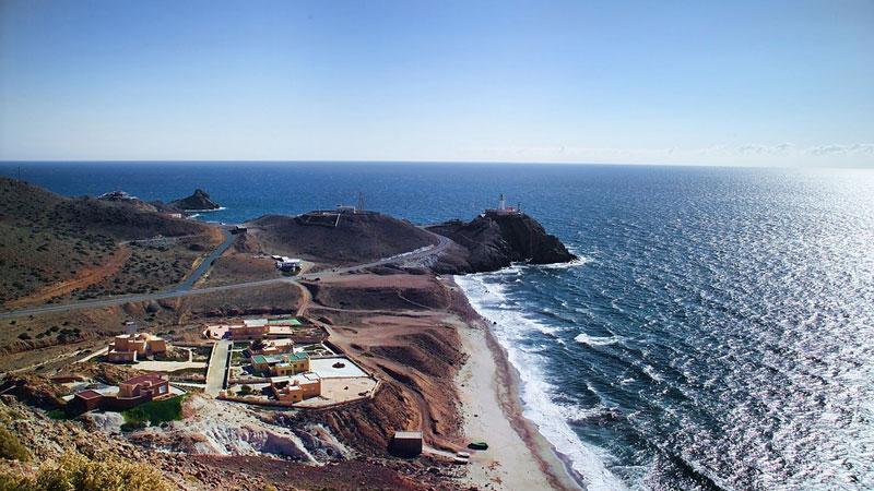 El faro de Cabo de Gata - Paisaje