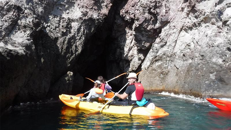 Kayak en Familia - Cabo de Gata Almería