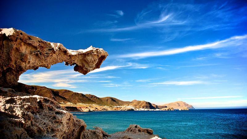 Vulcanismo en Cabo de Gata - Escullos