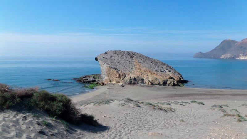 Vulcanismo en Cabo de Gata - Peineta Monsul