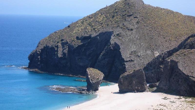 Mirador playa de los muertos en Cabo de Gata