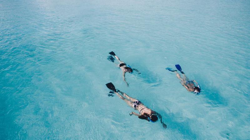 snorkel en familia en Cabo de Gata